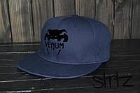 Кепка, cнепбек Venum (темно-синий), Реплика