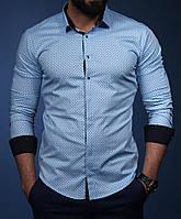 Элегантная мужская рубашка 2018  .