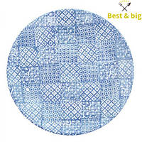 Тарелка без борта - 275 мм, Синяя (Merxteam) Minerva