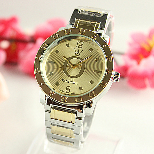Женские часы Pandora Corona золото с серебром