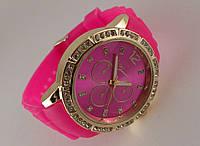 Часы GENEVA - в стиле Michael Kors розовый ремешок
