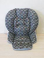 Чехол на стульчик Chicco Polly 2 в 1 абстракция на коричневом