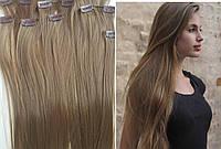 Копия Волосы на заколках клипсах,РЕАЛЬНЫЕ ФОТО! 10-12прядей! НАЛИЧИЕ! Термоволокно! накладные пряди