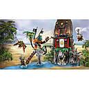 """Конструктор Ниндзяго NINJAGO """"Остров тигриных вдов"""", 448 дет. (Lego 70604), фото 5"""
