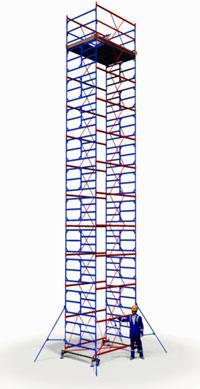Вышка тура ПСРВ 2,0х2,0м комплект (10+1), рабочая высота 14,6м