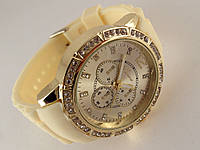 Часы GENEVA - в стиле Michael Kors кремовый