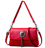 Женская сумка кросс боди c кисточкой Красный