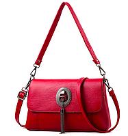 Женская сумка кросс боди c кисточкой , фото 1