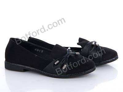 Туфли Mei De Li 400-1 black черный