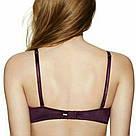 Бесшовный Бюстгальтер Пуш-Ап Victoria`s Secret PINK Wear Everywhere Push-Up Bra 70В, Марсала, фото 2