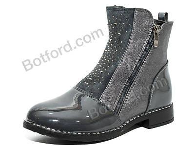 Ботинки Y.Top 18188-9-1 серый