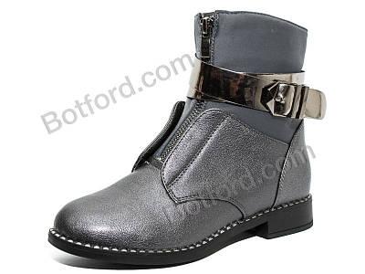 Ботинки Y.Top 18194-9-1 серый