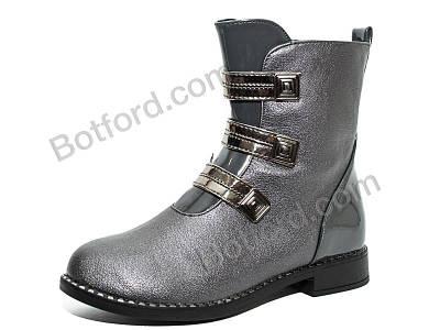 Ботинки Y.Top 18189-9-1 серый