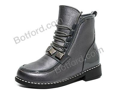 Ботинки Y.Top 18184-35 серый