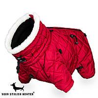Зимняя Одежда Комбинезон для собак , Alaska  cherry