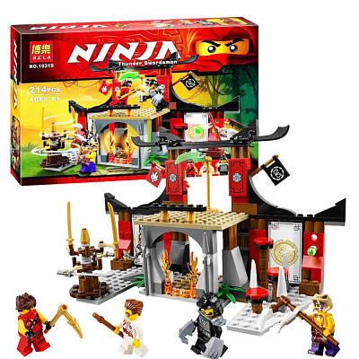 """Конструктор Ниндзяго NINJAGO """"Решающее сражение"""", 214 дет. (Lego 70756)"""