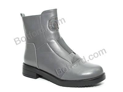 Ботинки Lilin 6011-3 серый