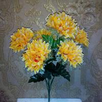 Искусственные цветы хризантема - шар, фото 1