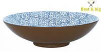 Салатник - 350 мм, Синий (Merxteam) Vesta