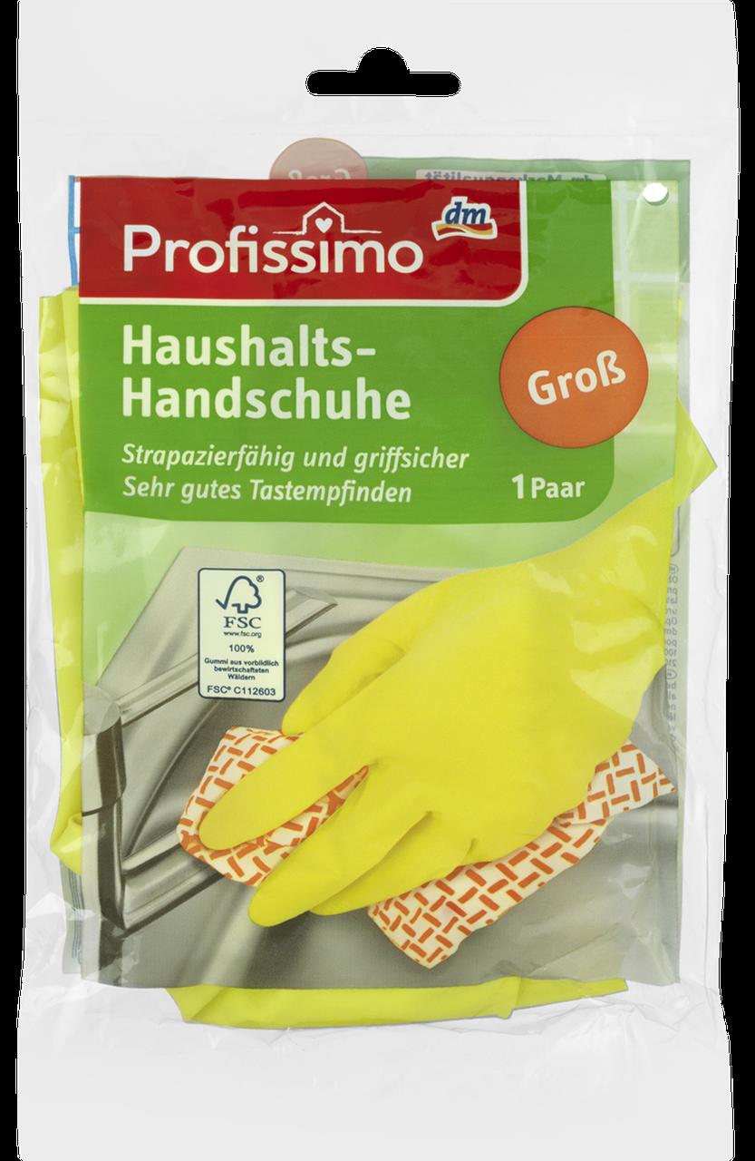 Резиновые перчатки для уборки в доме Profissimo Groß, 1 шт.