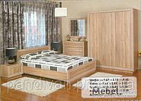 Спальня модульная Корвет к-кт