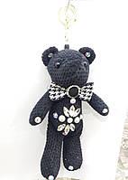 Вязанный брелок мишка, брелоки медведи оптом 319