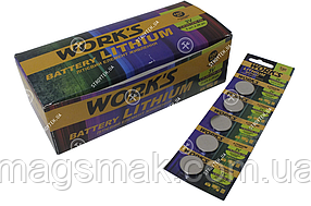 Батарейки Work's Lithium CR2032W-5B 5шт
