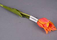 """Искуственные цветы 50 см. """"Тюльпан оранжевый"""""""