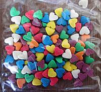 Посыпка сахарная с сердечками (смесь №3)