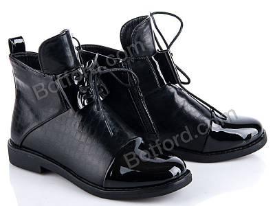 Ботинки Солнце 8F253-3A черный