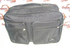 Мужская сумка, (жатка), черная