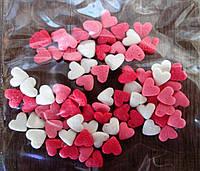 Посыпка сахарная с сердечками (смесь №5)