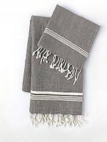 Полотенце MKRESPI Towel Oyster 100х180 Антрацит (OYS2120)