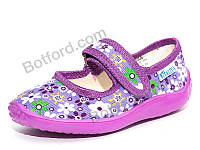 Тапки Slippers Сад без вышивки девочка фиолетовый