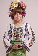 Заготовка Борщівської дитячої сорочки для вишивки нитками/бісером БС-101, фото 1