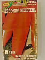 Семена Морковь Красный Гигант, фото 1