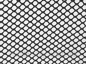 Сетка галантерейная / перегородка цвет черный 155 см