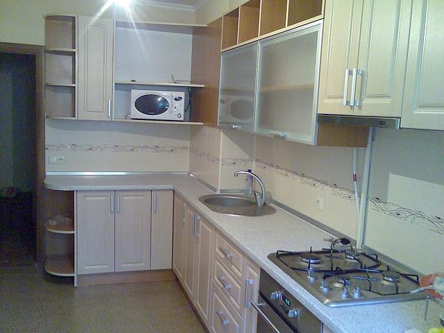 Кухні з фасадом МДФ — плівка.
