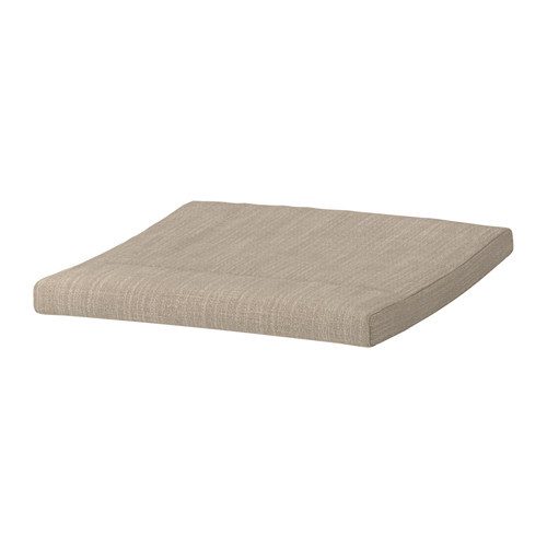 Подушка-сиденье на табурет для ног IKEA POANG бежевый 303.625.23