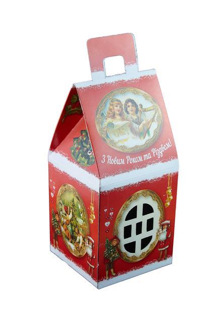 Подарки из конфет новогодней подарочной упаковке