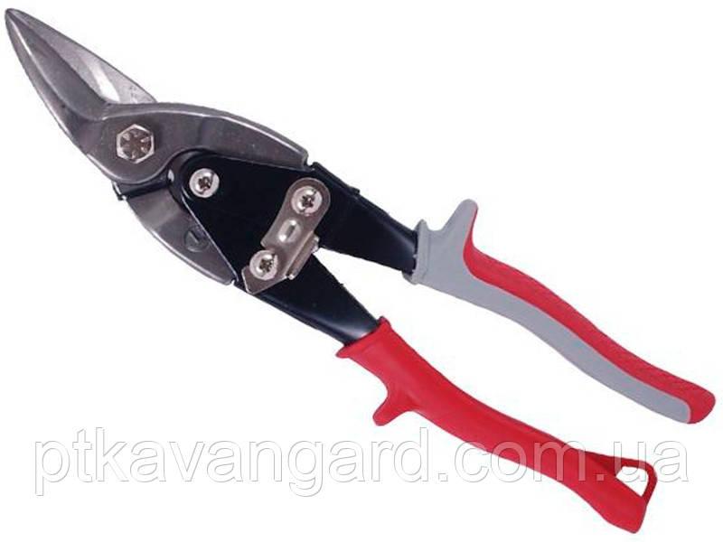 Ножницы по металлу 250 мм левые Cr-V INTERTOOL HT-0178