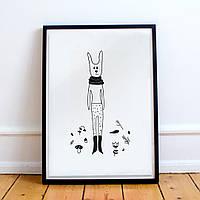 Постер Forest Rabbit