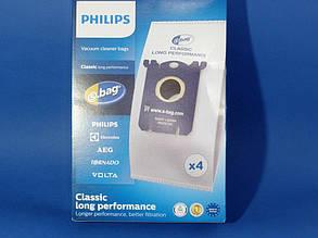Набор мешков FC8021/03 S-BAG Classic Long Performance для пылесоса Philips 883802103010, фото 2