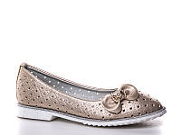 Детская обувь с перфорацией. Детские обувь оптом. Детские туфли бренда Башили для девочек (рр. с 25 по 30)