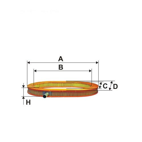 Фильтр воздушный FILTRON AE 345