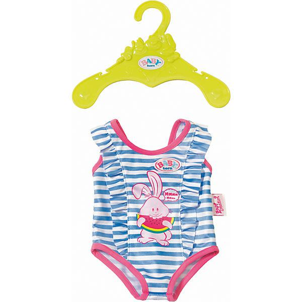 Купальник Беби Борн голубой Baby Born Zapf Creation 824580