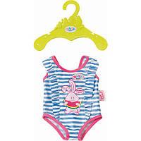 Одежда для кукол Беби Борн купальник голубой Baby Born Zapf Creation 824580
