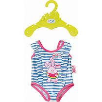 Новинка Одежда для кукол Беби Борн купальник голубой Baby Born Zapf Creation  824580 196a8c13e8c31