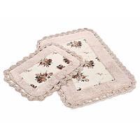 Набор ковриков для ванной Irya - Essa pembe розовый 60*90+40*60
