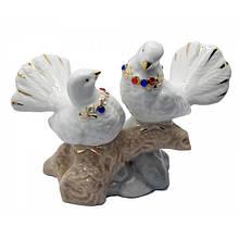 Фигурка Пара голубей для интерьера